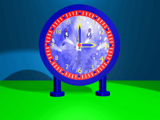 [finished clock]